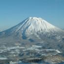 北海道冬の羊蹄山 清水英樹さん