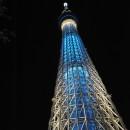 東京スカイツリーのライトアップ  橋本摩郎さん